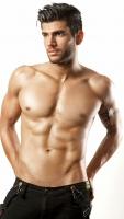 Johnny topless shot