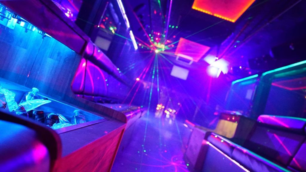 hire party bus for hens party