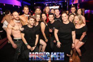 males at strip club