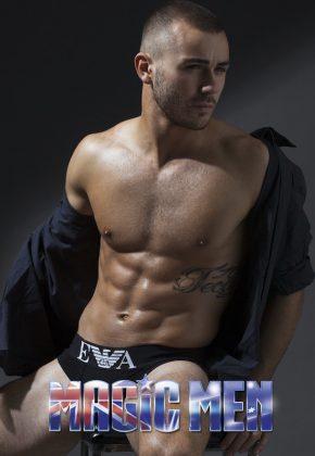 Melbourne topless waiter Francesco
