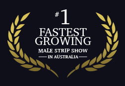 Fastest growing male strip show